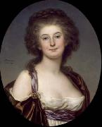 Adolf Ulrik Wertmuller Mademoiselle Charlotte Eckerman (1759-1790), Swedish opera singer and actress oil painting artist