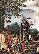 Albrecht Altdorfer Communion of the Apostles oil painting artist