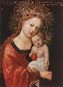 Albrecht Altdorfer Mary with the Child oil painting artist