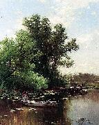 Alfred Thompson Bricher Drifting oil painting artist