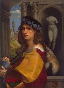 CAPRIOLO, Domenico Self rtrait oil painting artist