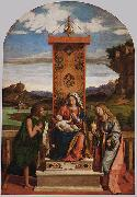 CIMA da Conegliano The Madonna and Child with Sts John the Baptist and Mary Magdalen oil painting artist