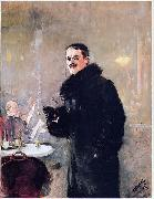 Christian Krohg Christian Krohg oil painting artist