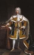 Enoch Seeman Portrait of George II of Great Britain oil painting artist