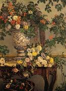 Frederic Bazille Flowers oil painting artist
