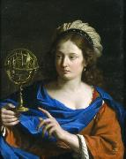 GUERCINO Astrologia oil painting artist