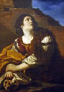 GUERCINO Mary Magdalene oil painting artist