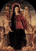 Giorgio Schiavone Virgin and Child Enthroned oil painting artist