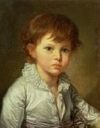 Jean-Baptiste Greuze ''Portrait of Count Stroganov as a Child oil painting artist