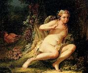 Jean-Baptiste marie pierre Temptation of Eve oil painting artist