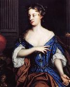 Mary Beale Self portrait oil painting artist