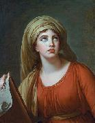 elisabeth vigee-lebrun Lady Hamilton as the Persian Sibyl oil painting artist