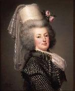 Adolf Ulrik Wertmuller Queen Marie Antoinette of France oil painting artist