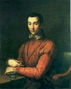 Alessandro Allori Portrait of Francesco de' Medici. oil painting artist