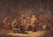 CUYP, Benjamin Gerritsz. Peasants in the Tavern oil painting artist