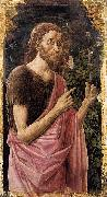Fra Carnevale St John the Baptist oil painting artist
