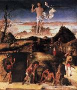 Giovanni Bellini Resurrection of Christ oil painting artist