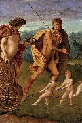 Giovanni Bellini Four Allegories: Lust oil painting artist