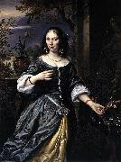 Govaert Flinck Portrait of Margaretha Tulp oil painting artist