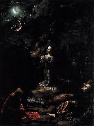 Jan Gossaert Mabuse Agony in the Garden oil painting artist