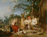 Jean-Baptiste Le Prince The Russian Cradle oil painting artist
