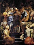 Rosso Fiorentino Betrothal of the Virgin oil painting artist