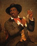 William Sidney Mount The Bone Player oil painting artist