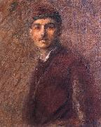 Wladislaw Podkowinski Self-portrait oil painting artist