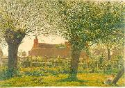 George Price Boyce.RWS At Binsey near Oxford oil painting artist