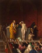 Jean-Leon Gerome Slave Market in Rome oil painting artist