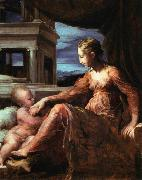 PARMIGIANINO Virgin and Child oil painting artist