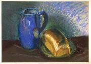STRIGEL, Hans II Bread and Pitcher oil painting artist