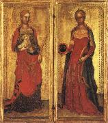 Andrea Bonaiuti St.Agnes and St.Domitilla oil painting picture wholesale