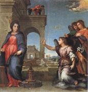 Andrea del Sarto The Annunciation oil painting picture wholesale