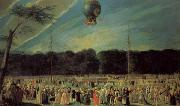 Antonio Carnicero The  Ascent of a Montgolfier Balloon oil painting picture wholesale