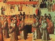 BELLINI, Gentile Procession in the Piazza di San Marco oil painting picture wholesale