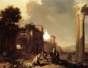 BREENBERGH, Bartholomeus The Prophet Elijah and the Widow of Zarephath oil painting artist