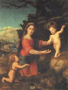 BUGIARDINI, Giuliano Madonna and Child with hte Young St.john t he Baptist oil painting artist