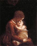 CAMBIASO, Luca Madonna and Child oil painting picture wholesale