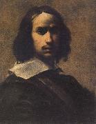 Cairo, Francesco del Self-portrait oil painting artist