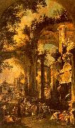 Canaletto An Allegorical Painting the Tomb of Lord Somers oil painting picture wholesale
