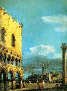 Canaletto The Piazzetta- Looking South oil painting picture wholesale