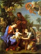 Chiari, Giuseppe The Rest on the Flight into Egypt oil painting artist