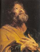 Dyck, Anthony van The Penitent Apostle Peter oil painting artist