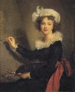 Elisabeth-Louise Vigee-Lebrun Self-Portrait oil painting artist