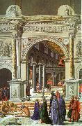 Fra Carnevale Presentation of the Virgin in the Temple oil painting artist