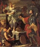 Francesco Solimena Rebecca at the Well oil painting artist