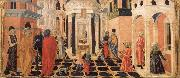 Francesco di Giorgio Martini Three Stories from the Life of St.Benedict oil painting picture wholesale