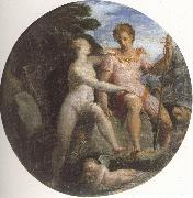 Girolamo Macchietti Venus and Adonis oil painting artist