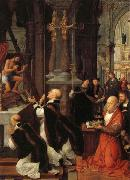 Isenbrandt, Adriaen The Mass of St.Gregory oil painting picture wholesale